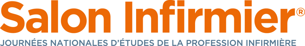 LOGO Salon Infirmier Orange Gris 0916