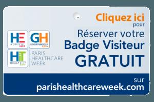 Votre badge visiteur gratuit pour la Paris Healthcare Week