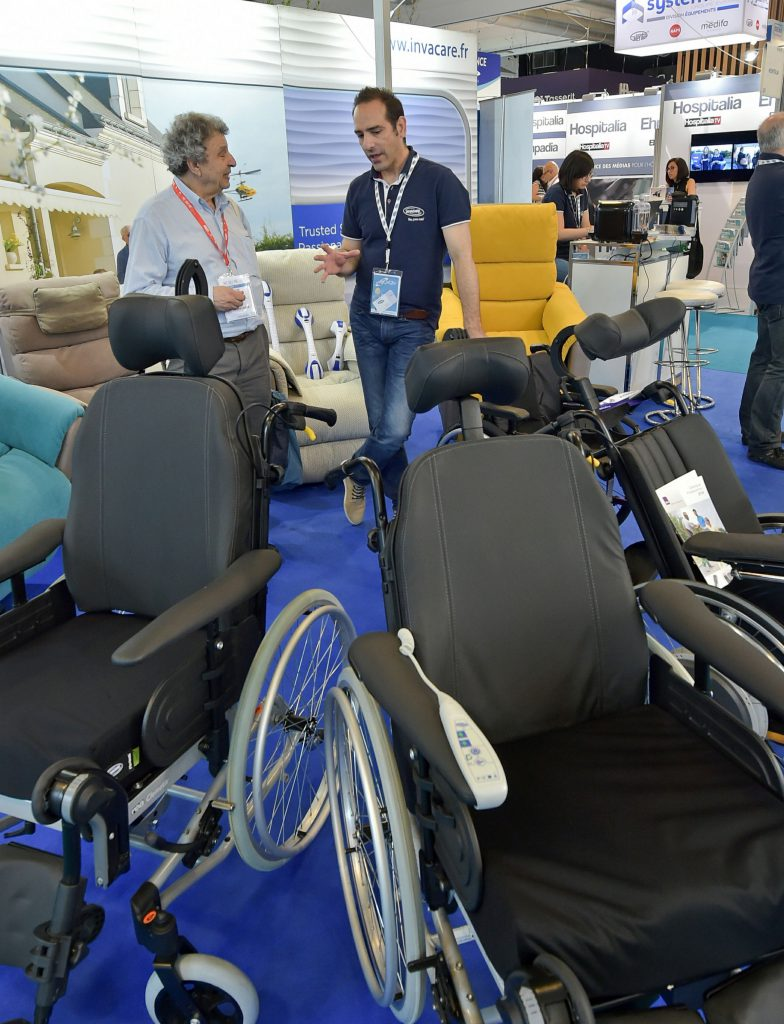 Invacare à la Paris Healthcare Week 2018
