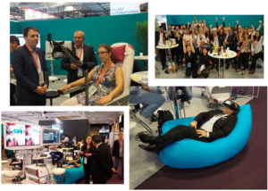 Le village du catel et son showroom à la Paris Healthcare Week 2019