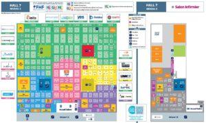 Plan de la Paris Healthcare Week 2019