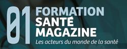 Partenaire 01 Formation Santé Magazine, partenaire SANTEXPO